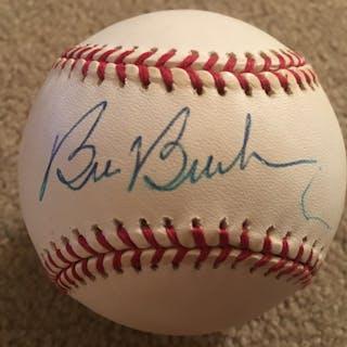 BILL BUCKNER RED SOX W S GOAT SIGNED MLB Beauty !!