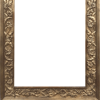 Hand Carved Art Nouveau Frame