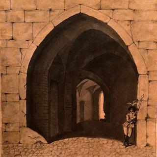 Continental school Soldier At His Post circa 1800