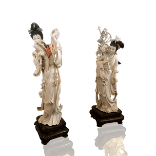 Antique Ivories of Japanese Women c.1890-1910