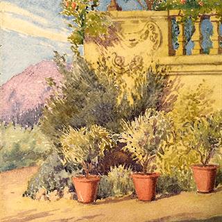 John Ireland Howe Downes [1861-1933] Connecticut impressionist artist