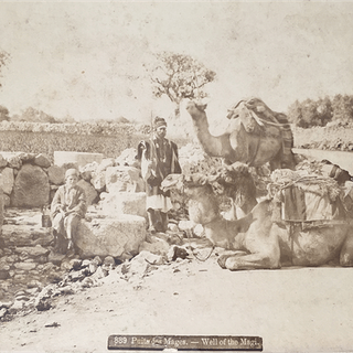 "Vintage Photograph ""Well of the Magi"" Circa 1890-1900"