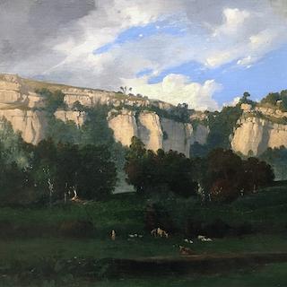 Leon-Victor Dupre [1816-1879] French Impressionist Barbizon : Landscape