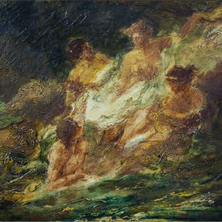 "English school ""The Birth of Aphrodite"" (Naissance Amphitrite) ca.1870"