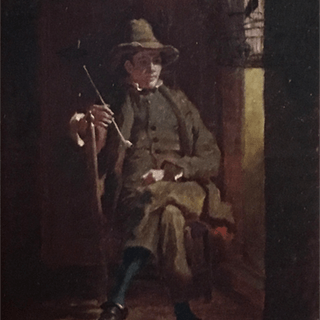 "William Mount [1807-1868] Long Island ,New York artist"" Resting"" circa 1850's"
