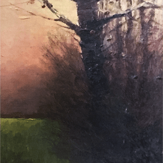 """French School """"Colors of Twilight """"1914"""