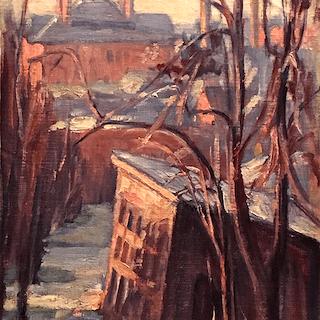 """Ellen Gifford Northern [1873-1944] American Impressionist """" Hagerstown,Maryland"""""""