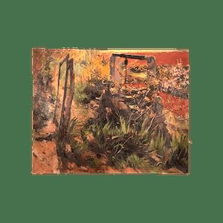 """Joan Orihuel Bartra (1906-1982) Spanish -Argentinian Artist """" Outside"""