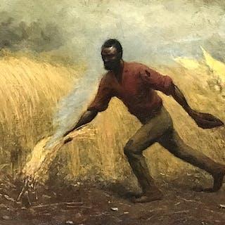 "American School ""Burning the Fields"", ca.1864"