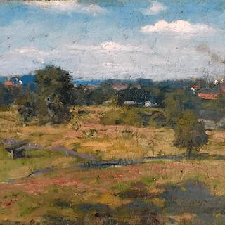 "American Impressionism ""The Factory"" circa 1880's"