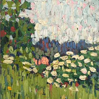 "French School ""Flowers in the field"" ca 1920"