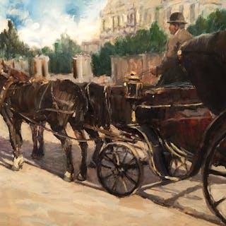 "Manuel Barros [1907-1961] Spanish/Argentine Artist ""Memories"", ca.1950"