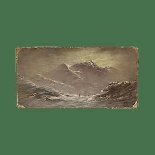 "American School ""Mountains of Alaska"", ca.1880"