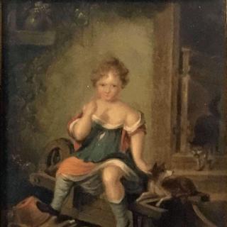 Edward Bird [1772-1819] English history painter The mothers pride, 1805.