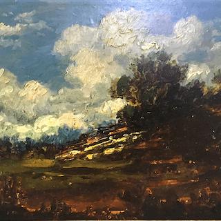 William Taylor : Cloud study, circa 1880.