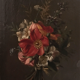 Early flower painting : Bouquet, ca.1790-1810.