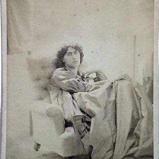 John Robert Parsons [1825-1909] Irish photographer and artist : Miss