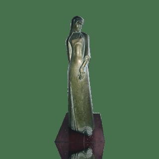 Ernst Barlach [1870-1938] : Woman, ca.1920s.