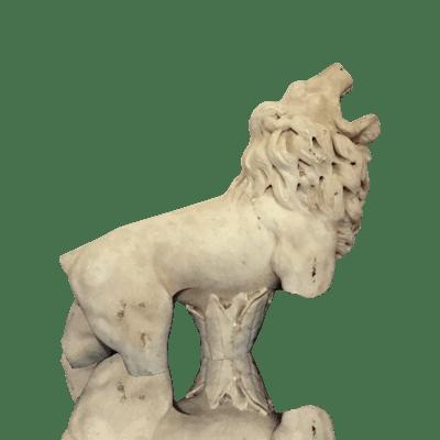 Roman fountain fragment : The lion's roar, ca.
