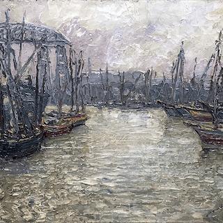 Juan Sol [1897-1987] : La boca, ca.1920.