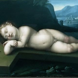 Cristofano Allori [1577 – 1621] Italian : Divine love – baby Jesus