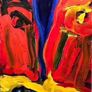Bengt Karl Erik Lindström [1925-2008] : Untitled [the split up], 1995.