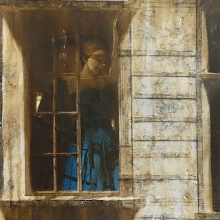 Edvard Yashin [born 1960] Ukrainian magic realist : Yashin ed. blue