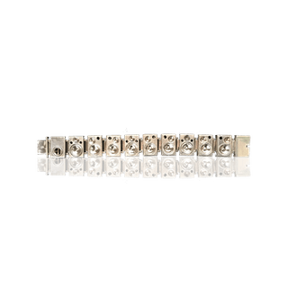 [unattributed] American Sterling silver : Sterling silver bracelet