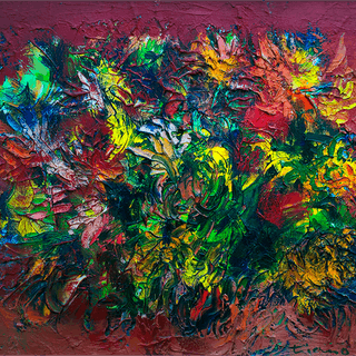 Anthony Thomas Triano [1928-1997] American artist : Gathered from nature, 1964.