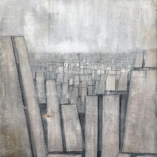Cesare Peverelli [1922-2000] Italian modernism : The city, 1959.