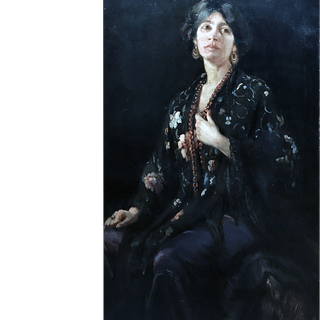 [unattributed] English school : Spanish woman, 1885.