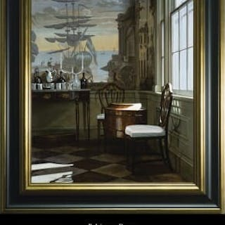 A framed canvas print of the Baltimore Room
