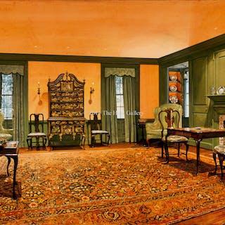 Queen Anne Sitting Room