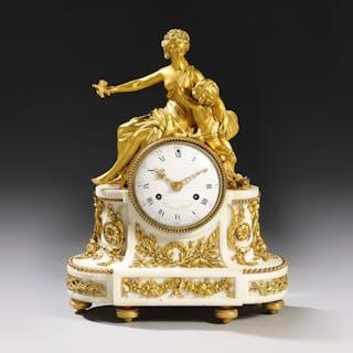 Pendulum with Carrara marble