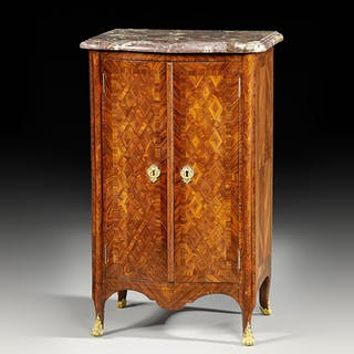 """A very fine small armoire, called """"Meuble d'appui"""""""