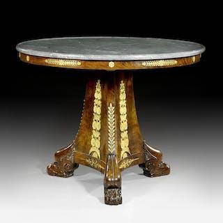"""Center table called """"Aux Pâttes de Lion"""""""