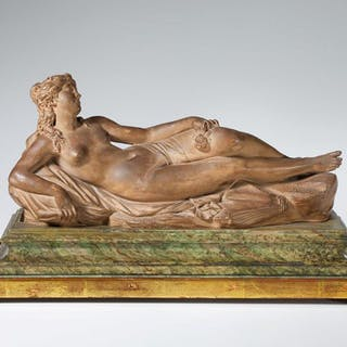 Reclining Woman with a rose in hand
