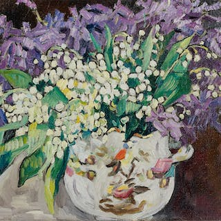 Lilies-of-the-valley and hyacinths