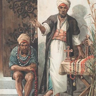 Jewelery Sellers from Lybaert