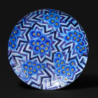 Enameled Copper bowl