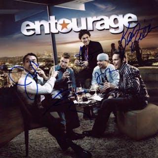 """Entourage"" Cast Signed 11"" x 14"" Color Photo (5 Signatures)(Beckett/BAS)"