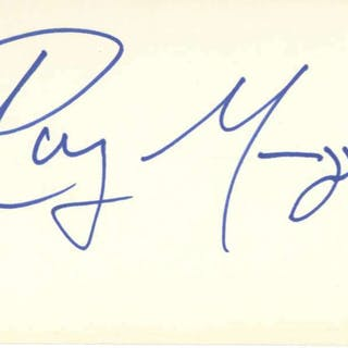 "The Doors Ray Manzarek Signed 3"" x 5"" Album Page (Beckett/BAS)"