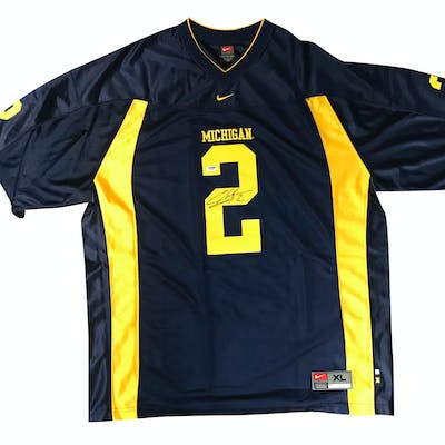 online store e25c7 14e45 Charles Woodson Signed Michigan Custom Jersey (PSA/DNA ...