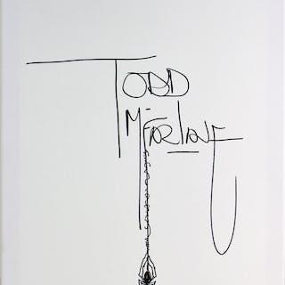 "Todd McFarlane Signed 16"" x 20"" Canvas w/ Spider Sketch (Beckett/BAS)"