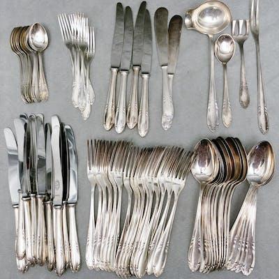 Group of Guldsmedsaktiebolaget Silver Plated Flatware - Swedish – A4BL