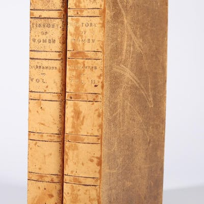 Alexander, William. The History of Women, From the Earliest Antiquity