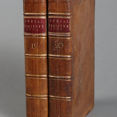 Burke, Edmund. The Annual Register, or a View of The History, Politics