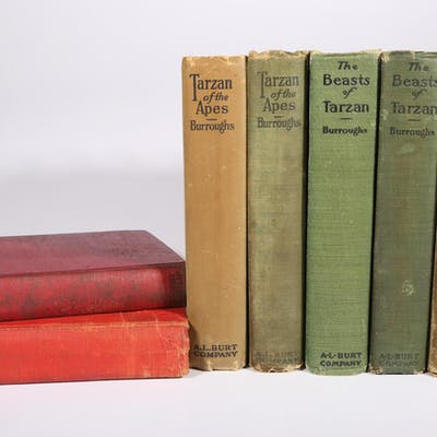 Burroughs, Edgar Rice. Four Tarzan of the Apes, Two The Beasts of