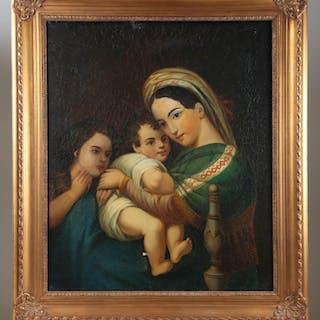 Italian School, Madonna and Child FR3SHLM