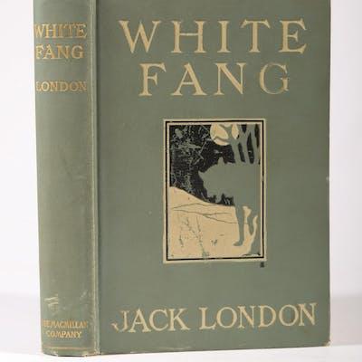 London, Jack. White Fang, 1906 SBC2
